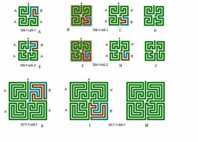 tegn to forskellige kvadrater